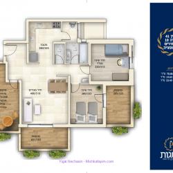 3-room-apartment-10-with-option-pesagot-taman